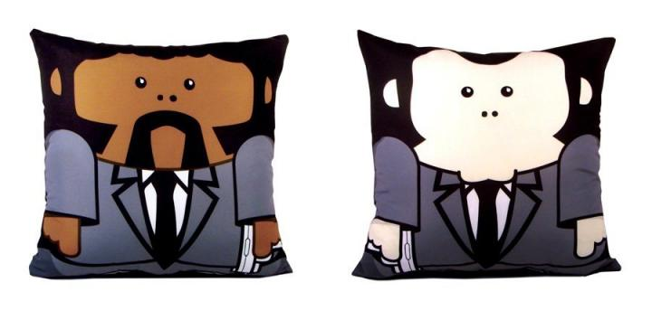 Almofadas de Pulp Fiction