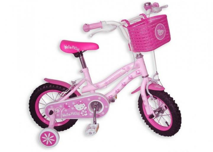 Bicicleta infantil da Hello Kitty