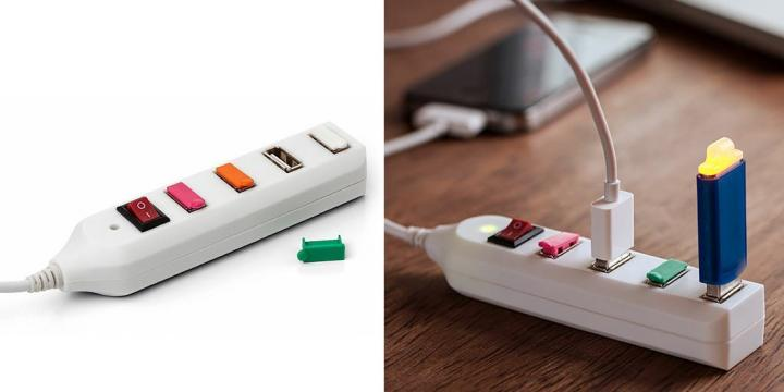 Multi carregador para dispositivos USB