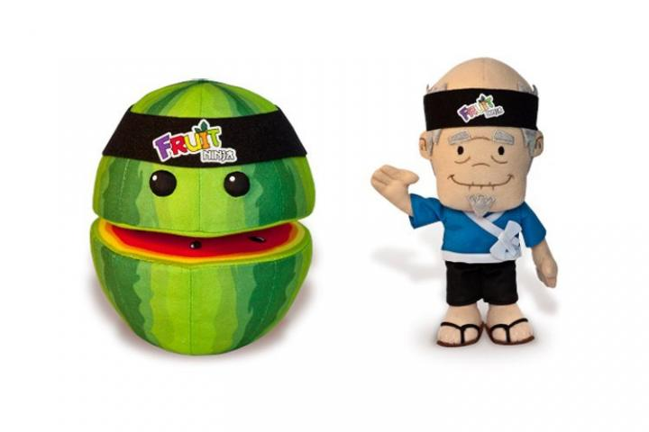 Peluches do Fruit Ninja
