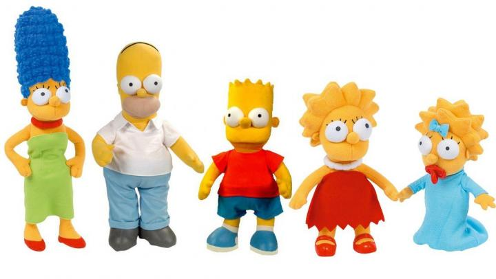 "Peluches ""Os Simpsons"""