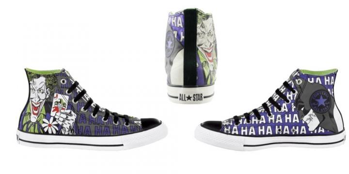 Sapatos personalizados do Joker