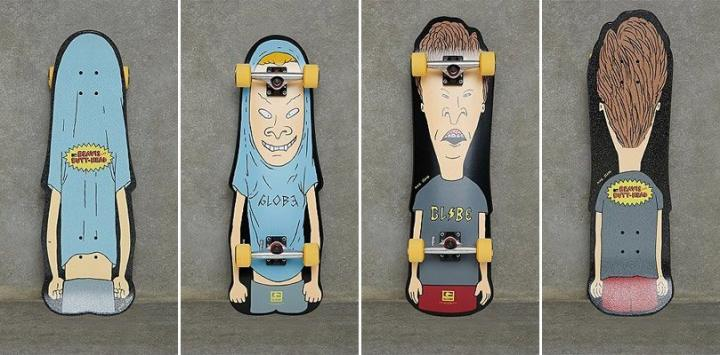 Skates do Beavis e Butt-head